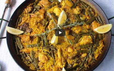 La paella valenciana: la receta tradicional y orígenes